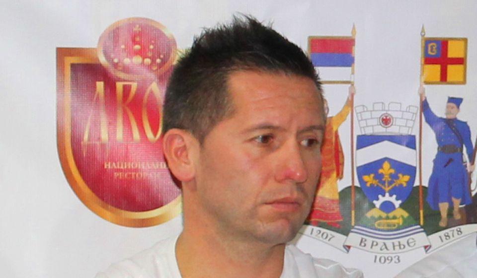 Da li je Igor Stojanović Žike gurnuo sudiju. Foto VranjeNews