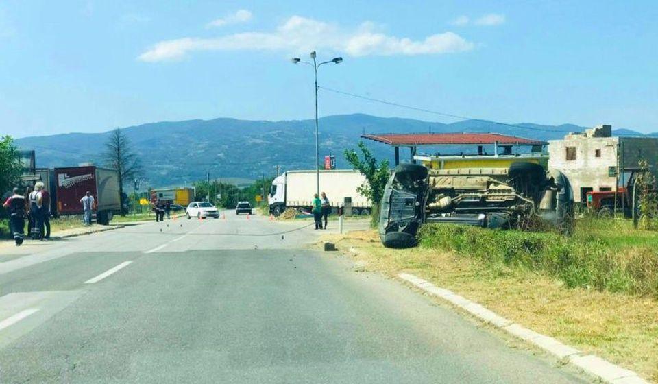 Uviđaj na licu mesta. Foto Vranje News