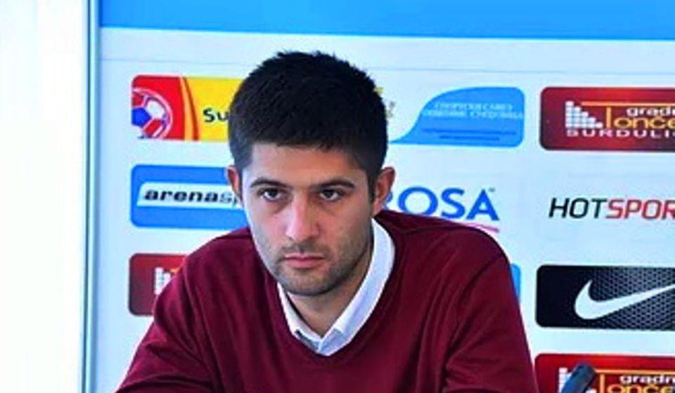 Darko Gašić. Foto FK Radnik