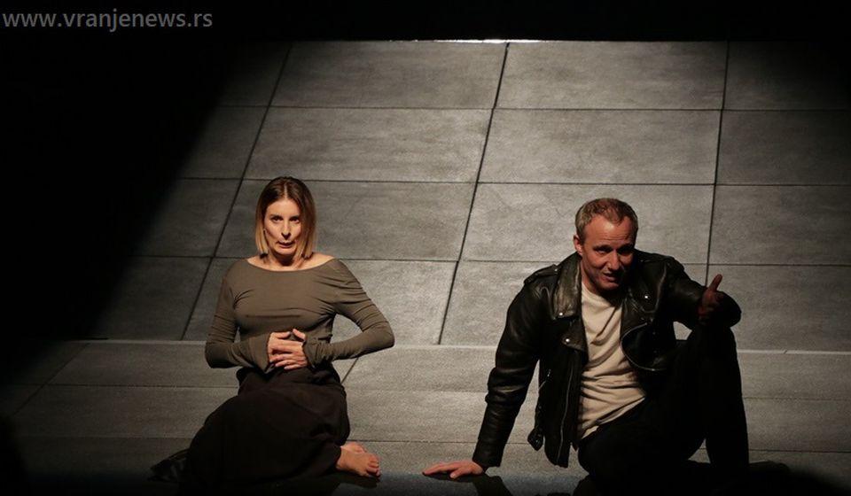 Hana Selimović (Eva) i Miloš Timotijević (Danijel). Foto Vranje News