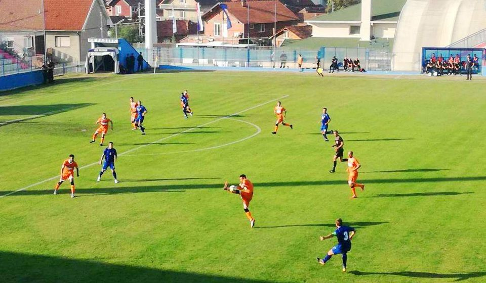 Spartak tvrd orah. Foto FK Radnik