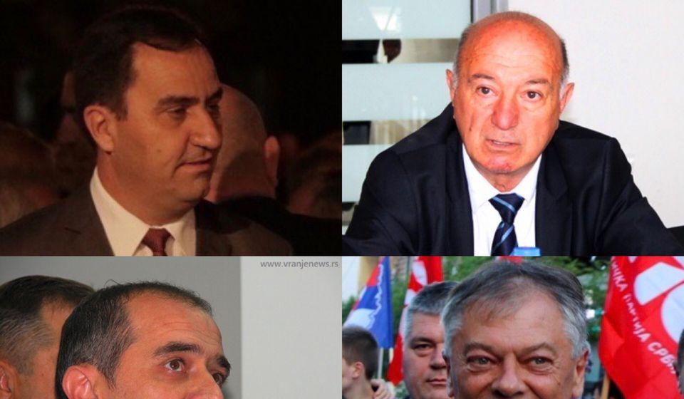 Mitrović, Hasani, Bulatović i Tončev. Foto Vranje News