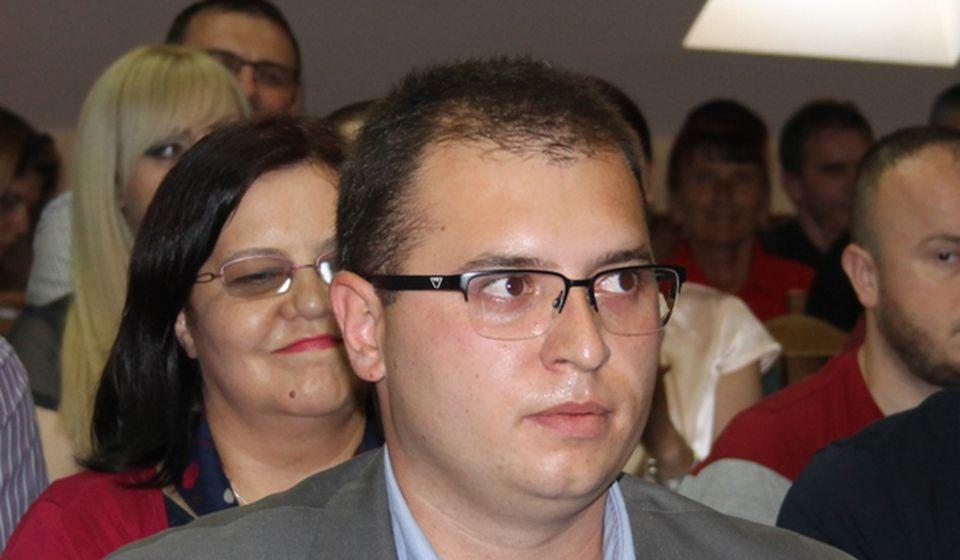 Do juče poverenik, danas predsednik GrO NS: Đorđe Ristić. Foto VranjeNews