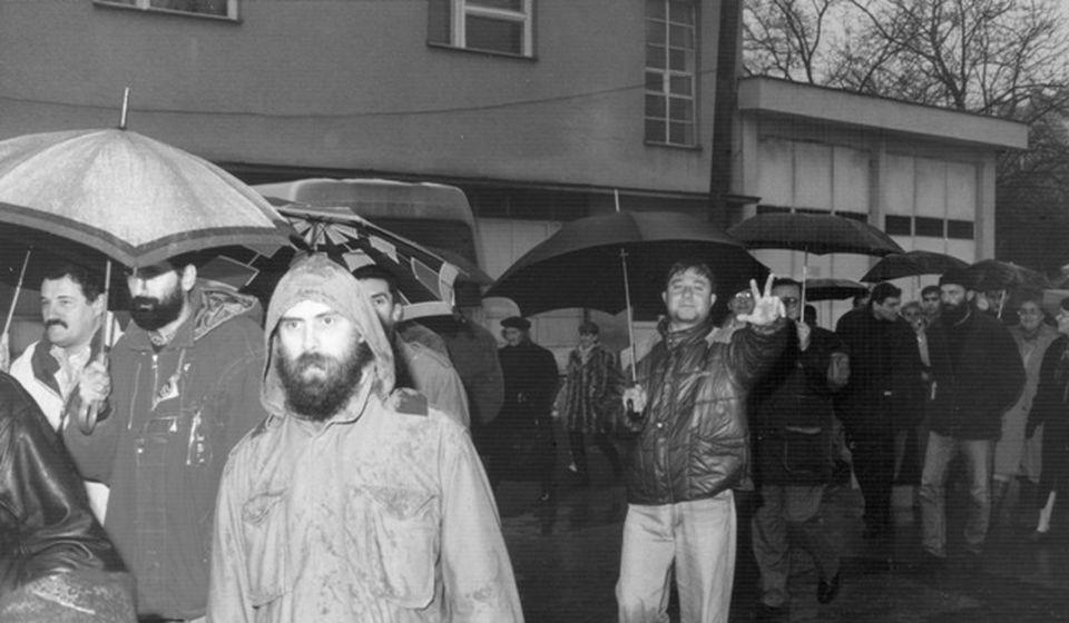 Sa demonstracija u Vranju. Foto Vranjske d.o.o.