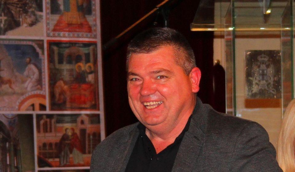 Dejan Manić, 42. na zajedničkoj Palminoj i Dačićevoj listi za republički parlament. Foto Vranje News