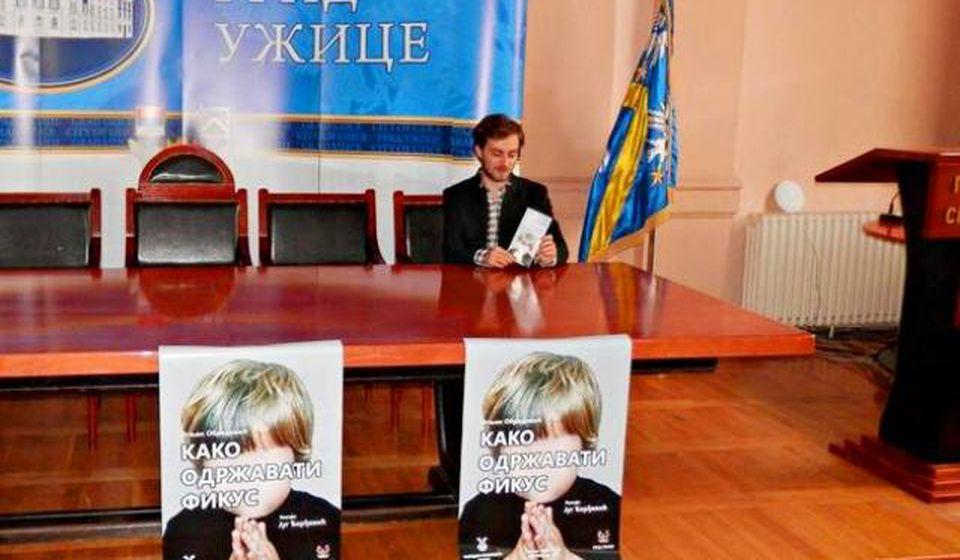 Sa konferencije za novinare pred premijeru. Foto Narodno pozorište Užice