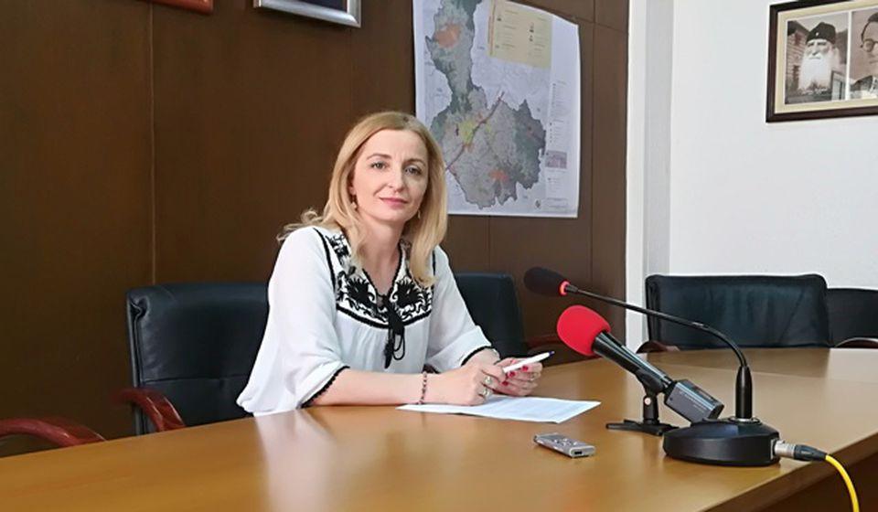 Prenos prava svojine bez naknade isključivo za izgradnju stanova za bezbednjake: Zorica Jović. Foto VranjeNews