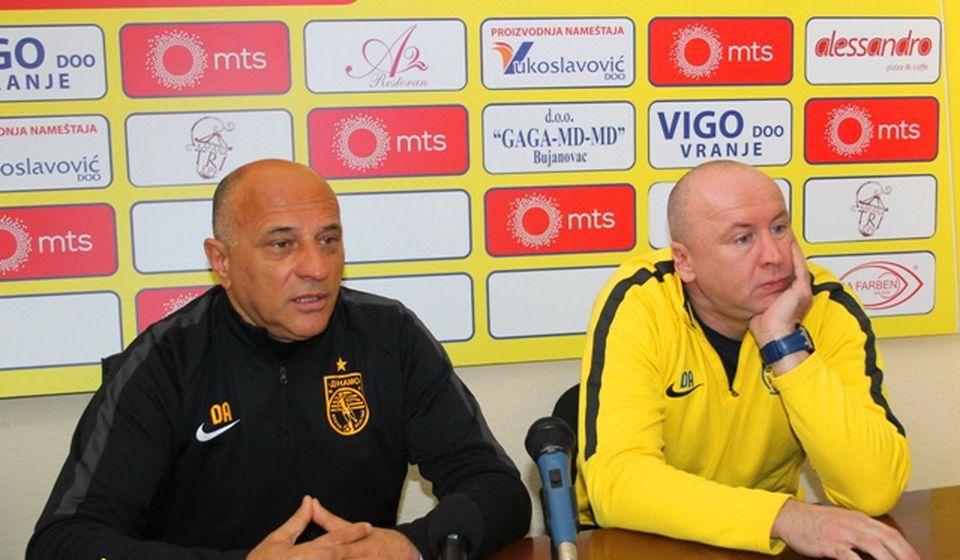 Dragan Antić i Saša Ćurčić. Foto VranjeNews
