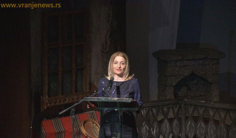 Gradska većnica za kulturu Zorica Jović. Foto Vranje News