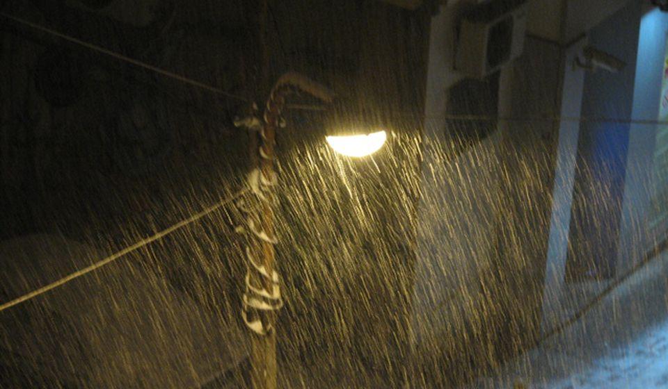 Decembar u martu: Vranje u četvrtak uveče. Foto VranjeNews