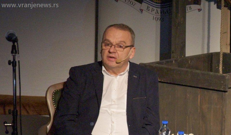 Dragan Stojanović. Foto Vranje News
