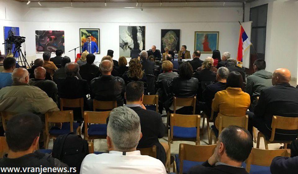 Veliko interesovanje publike za ovu promociju. Foto VranjeNews