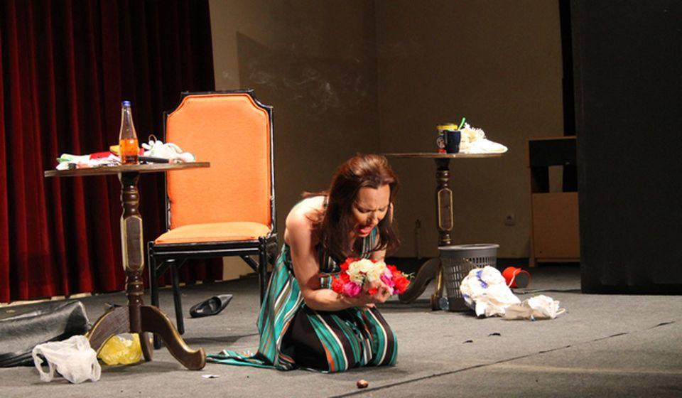 Monodrama je u izvođenju glumice vranjskog ansambla Žetice Dejanović. Foto VranjeNews