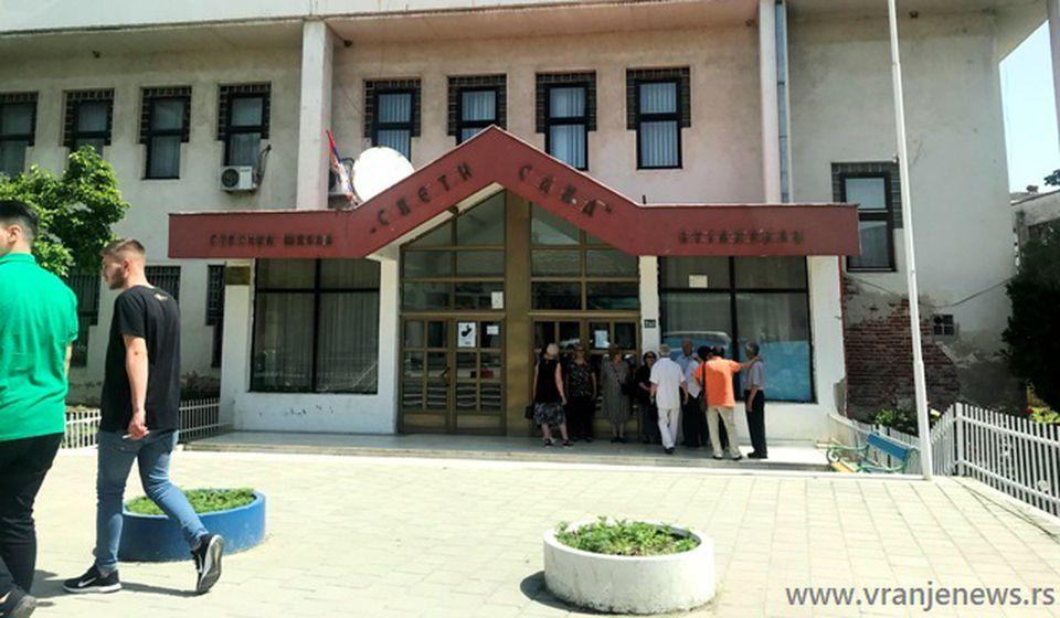 Srednja škola Sveti Sava u Bujanovcu. Foto VranjeNews