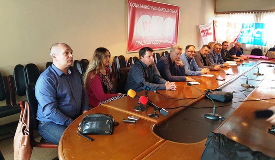 Sastanci sa SNS dva puta mesečno. Foto VranjeNews