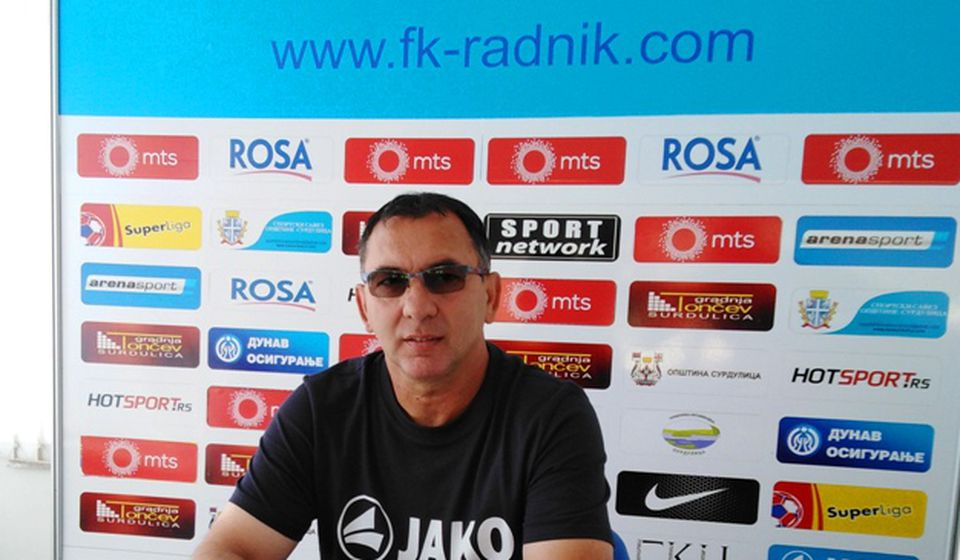 Slaviša Božičić. Foto FK Radnik