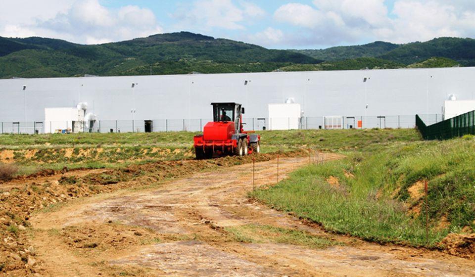 Infrastrukturno opremanje Industrijske zone u Bunuševcu investicija od kapitalnog značaja za grad. Foto VranjeNews