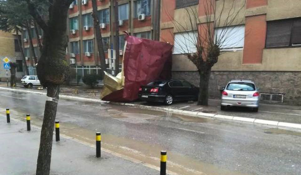 Šteta na vozilima, povređenih nema. Foto Vranje News