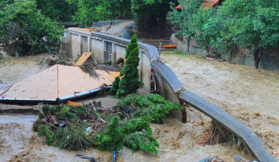 Vranjska reka se u petak kretala četiri puta brže od Južne Morave. Foto VranjeNews