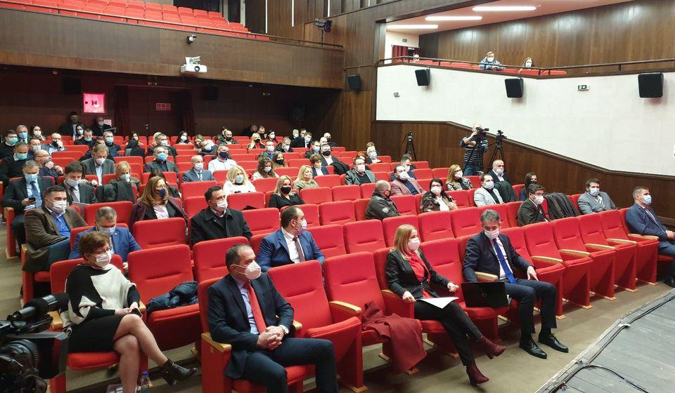 Sednica će biti održana u sali vranjskog pozorišta. Foto www.vranje.org.rs