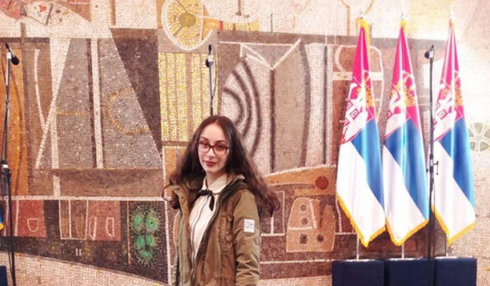 U svom radu krenula od izvora problema: Jefimija Najdić. Foto privatna arhiva