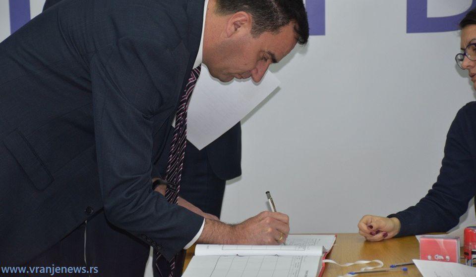 Nenad Mitrović, šef bujanovačkih naprednjaka. Foto Vranje News