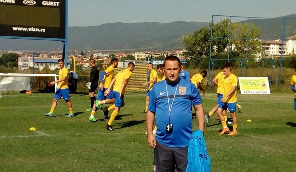 Vranje ima mnogo fudbalskih talenata: Pavković na treningu Dinama. Foto privatna arhiva