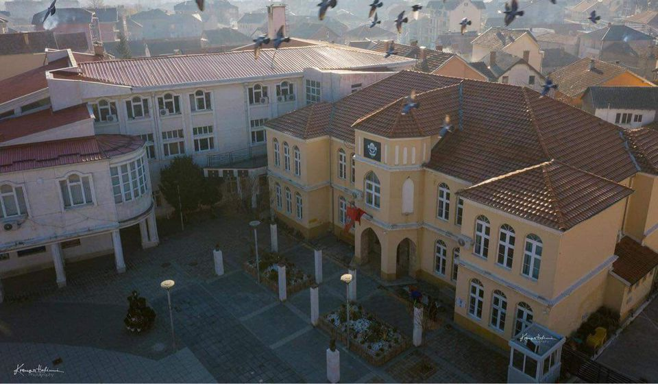 Zgrada Skupštine opštine Preševo. Foto Krenar Halimi