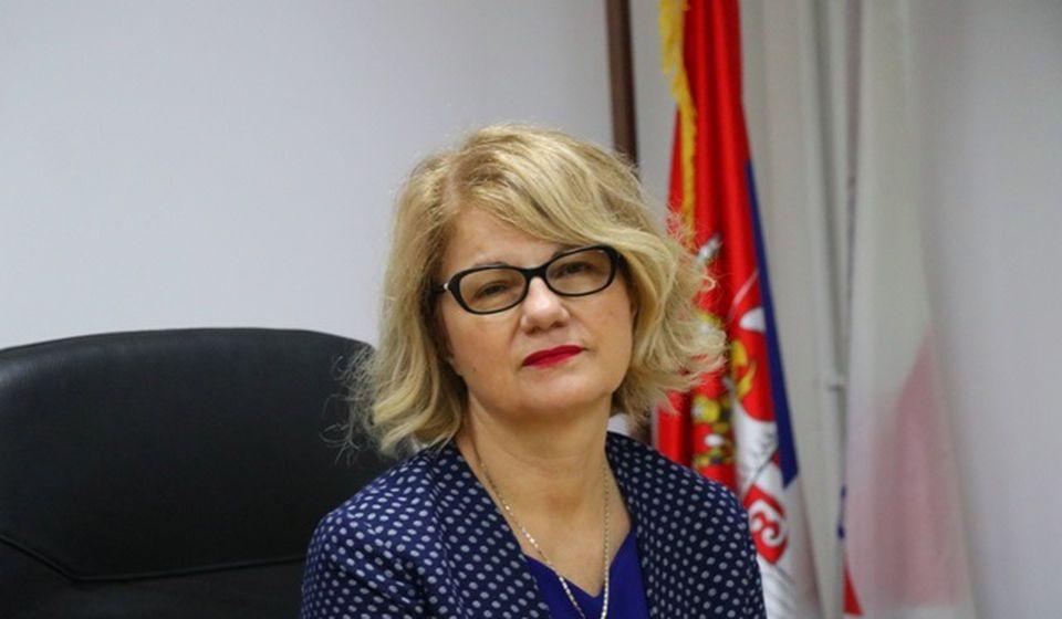 Nulta tolerancija prema neodgovornosti: Ljiljana Antić, v.d. direktorka ZC Vranje. Foto Vranje News