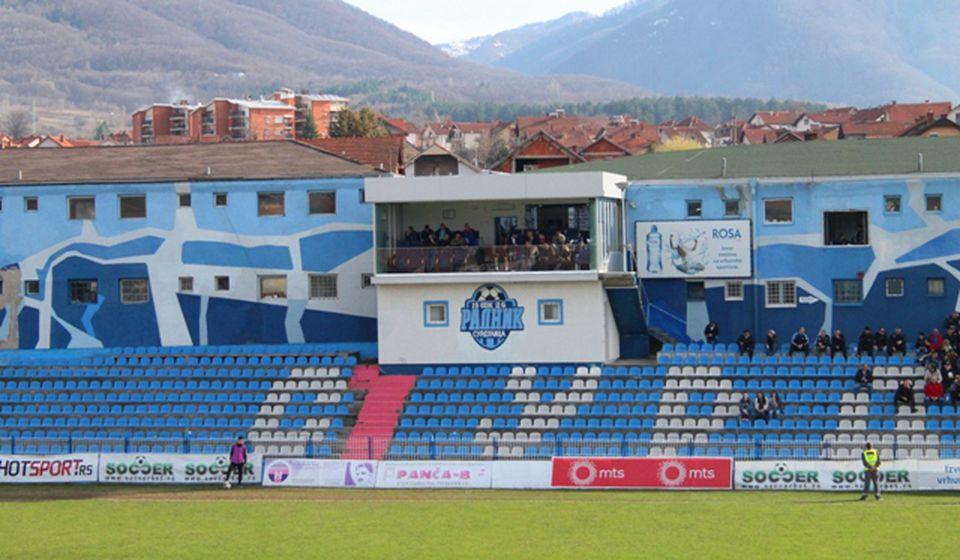 Možda i poslednji meč Dinama na stadionu u Surdulici. Foto VranjeNews