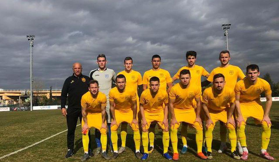 Vranjanci će u sredu odigrati utakmicu sa ekipom FK Shkodre. Foto FK Dinamo
