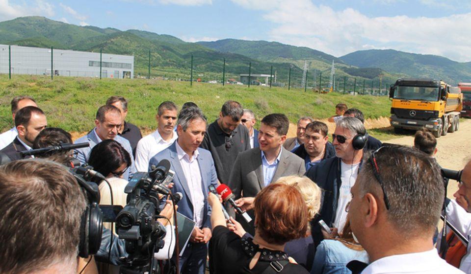 Dva kružna toka i saobraćajnica od 600 metara. Foto VranjeNews