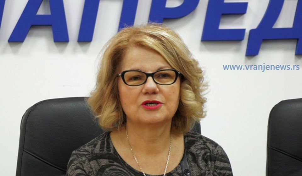 Ljiljana Antić. Foto Vranje News