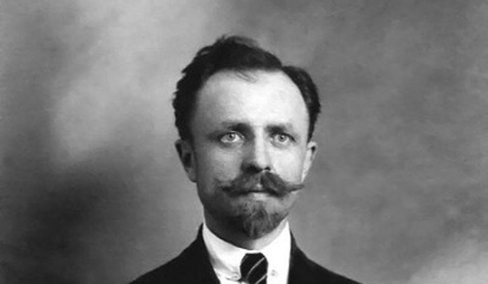 Milan Vlajinac. Foto - slika dobijena iz porodične arhive Dušana Đorđevića