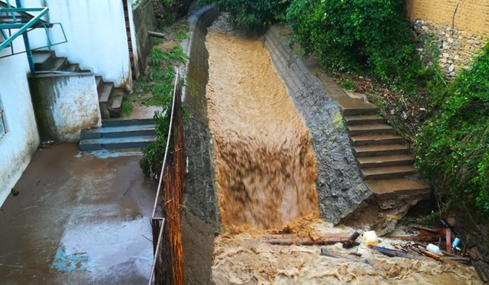 Vranjska reka kod Amama u vreme poplavnog talasa. Foto VranjeNews